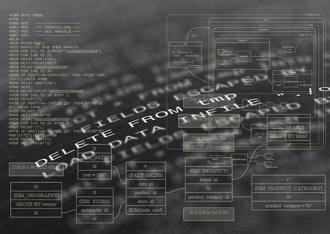 Les langages de programmation courants d'un site internet